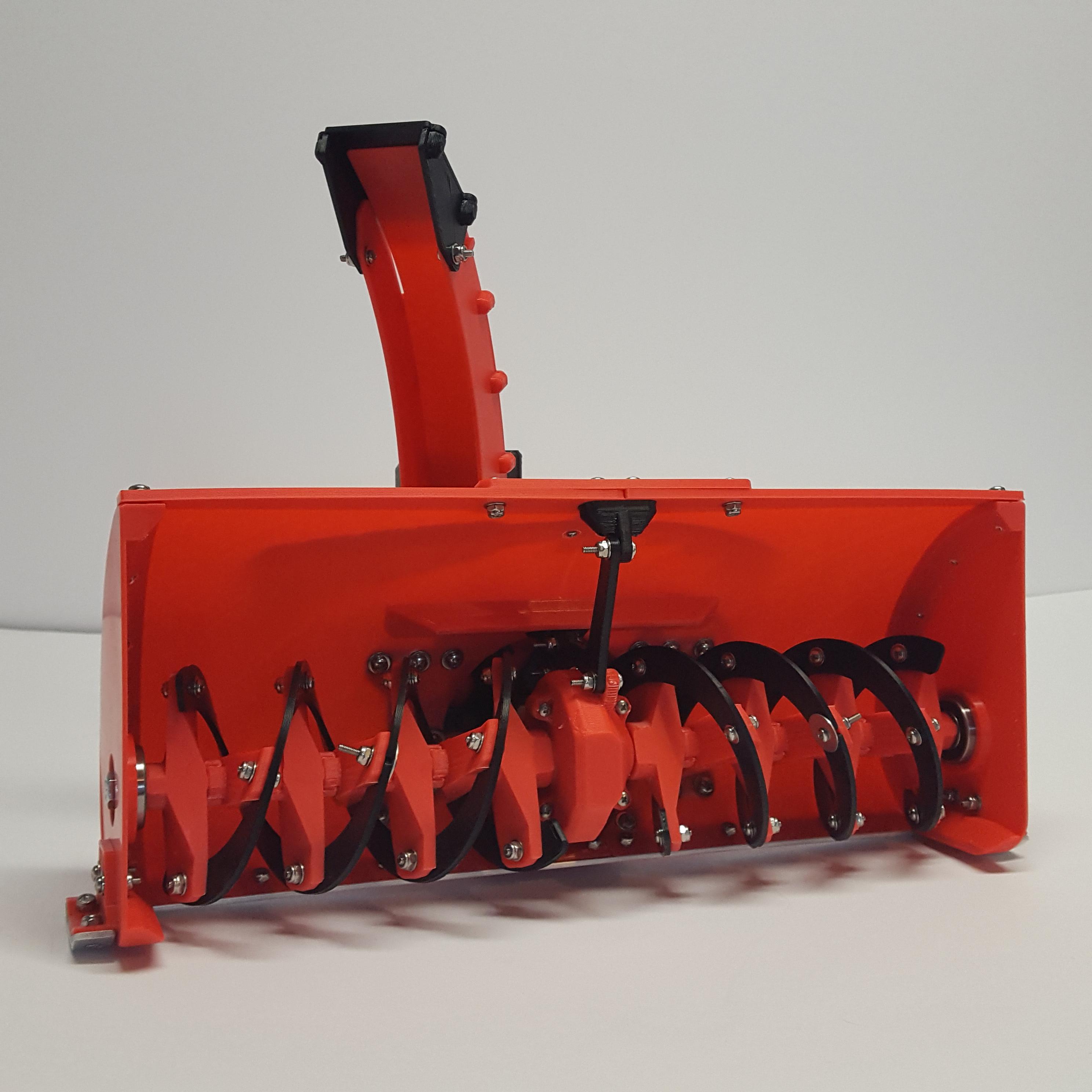 Mini Snow Blower 1X – Spyker Workshop